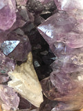 Amethyst Cluster with Calcite - AC3 - Earthly Secrets
