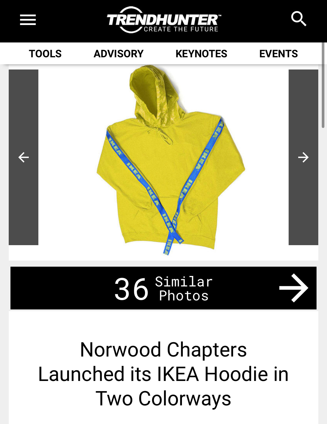 Furniture Brand-Inspired Hoodies : Norwood Chapters