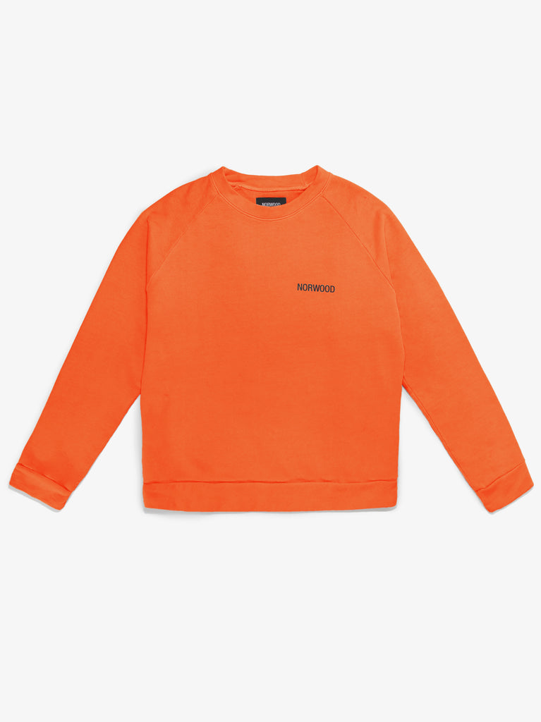 MINERAL ORANGE SWEATSHIRT