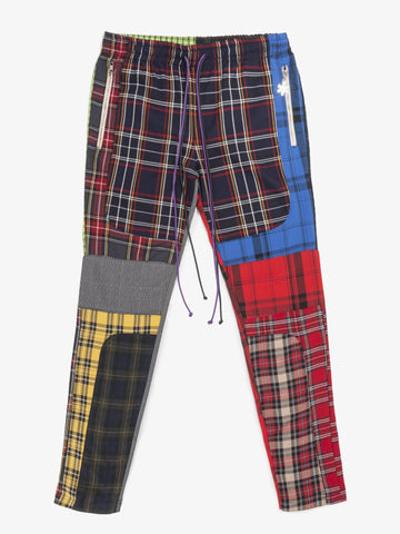 PATCHWORK RACER PANT