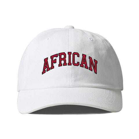 AFRICAN Collegiate Dad Hat