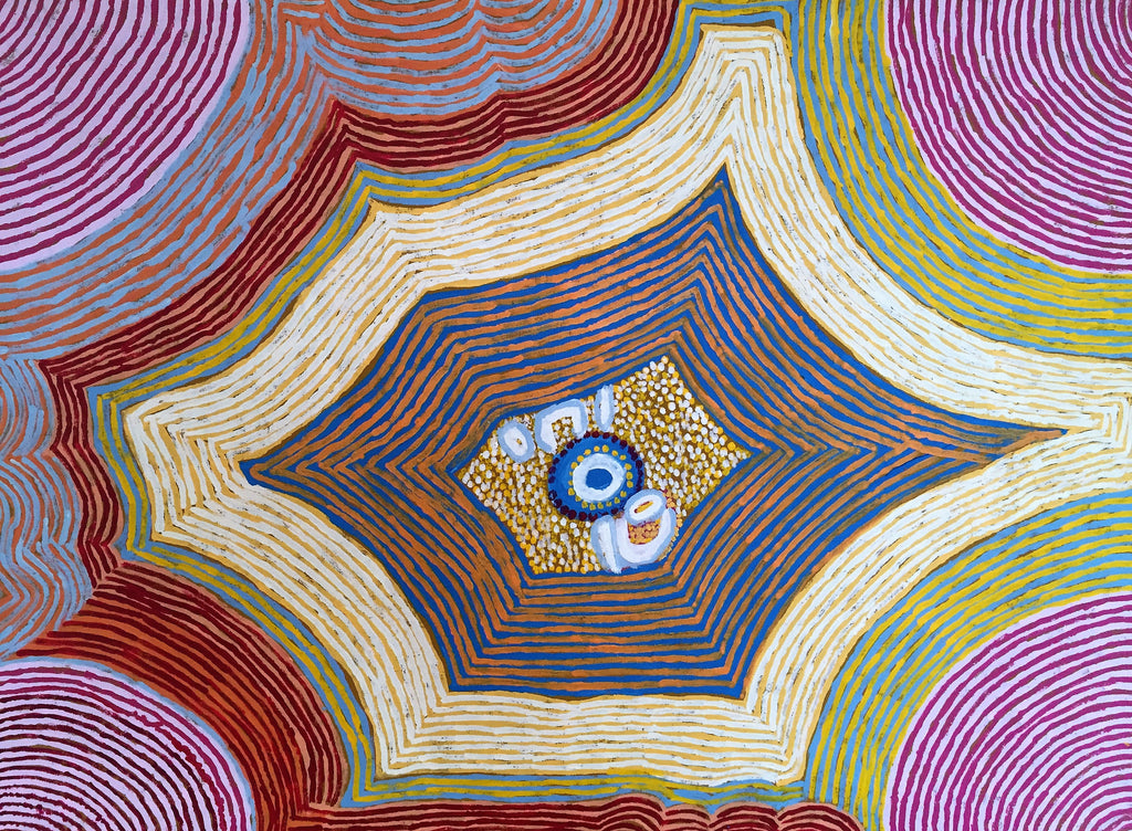 Contemporary Aboriginal Art from Haasts Bluff (Ikuntji)