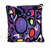 Cushion (filled) - Aboriginal Artist - Cedric Varcoe