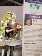 Hands on Floral Design Workshop by Paul Jaras AIFD Monday, June 24 2019
