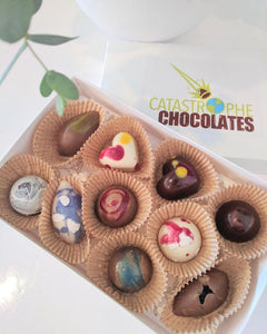 studio bloom flowers & catastrophe chocolates