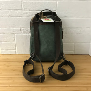 daVan backpack / small shoulder bag - green