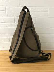 DaVan Backpack Sling Bag - Brown