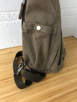 Load image into Gallery viewer, DaVan Backpack Sling Bag - Brown
