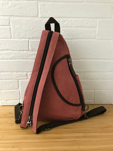 DaVan Backpack Sling Bag - Pink