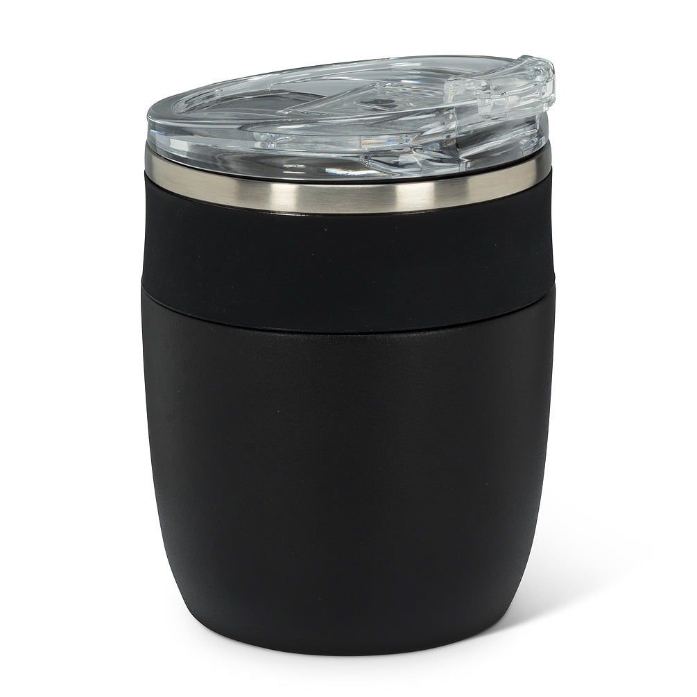 bevi insulated tumbler with flip top lid