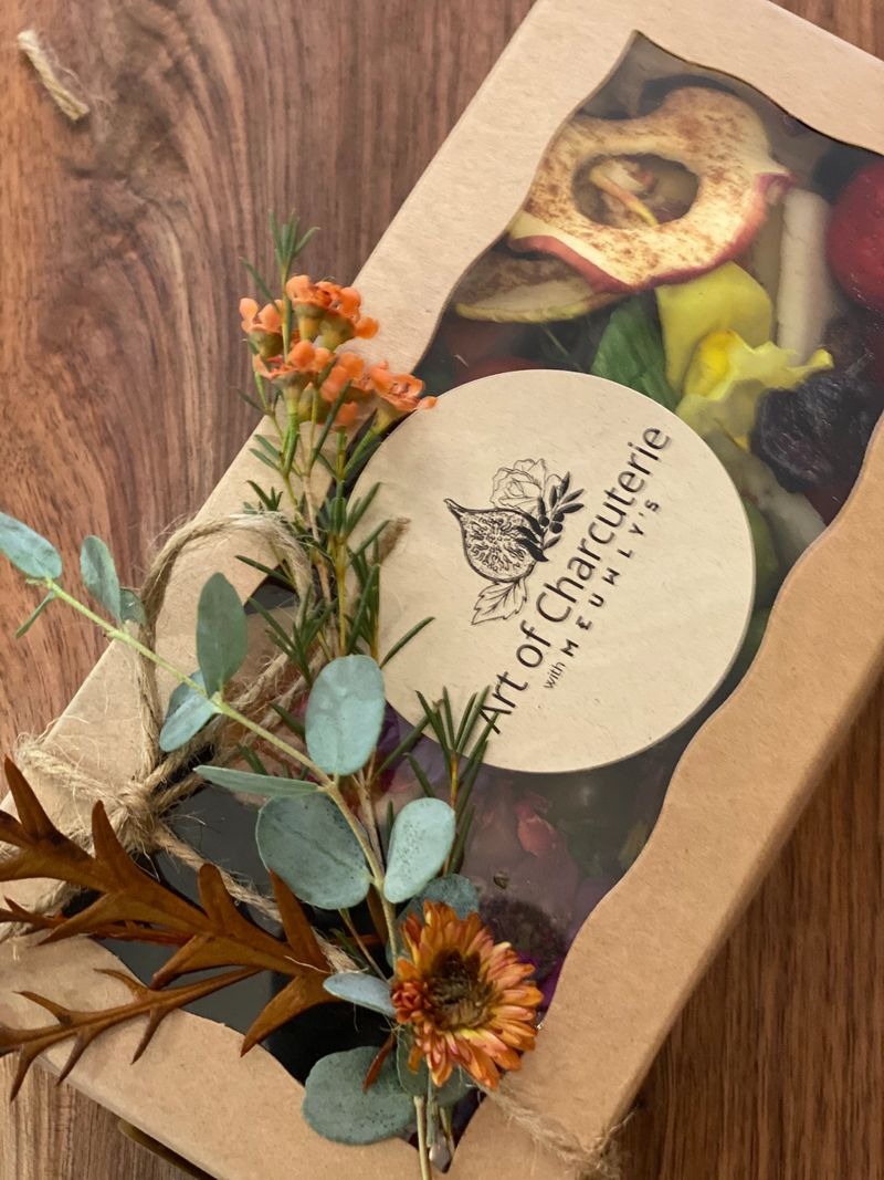 art of charcuterie box