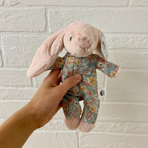 bedtime blossom bunny small by jellycat