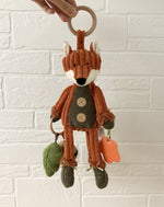 Load image into Gallery viewer, Cordy Roy Fox Activity Toy By Jellycat
