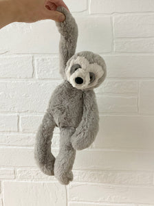 bailey sloth small by jellycat