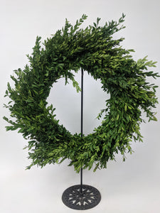 "14"" Round Boxwood Wreath"