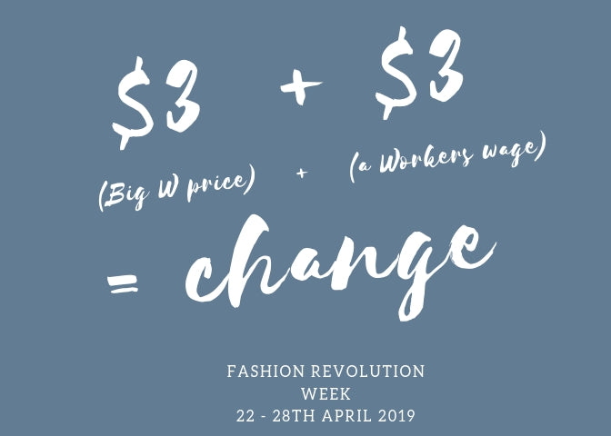 My personal challenge for Fashion Revolution Week