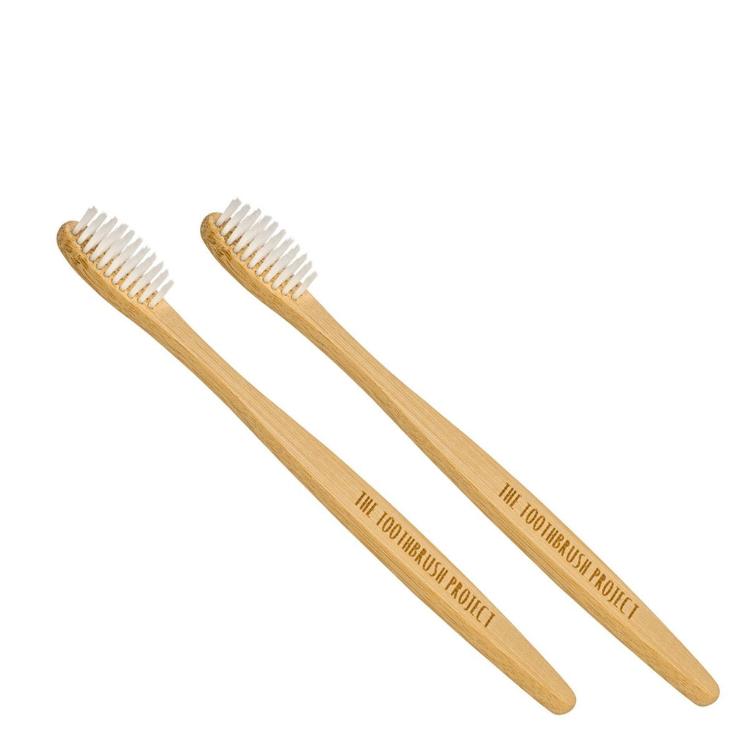 Kids Bamboo Toothbrush - Pack of 2