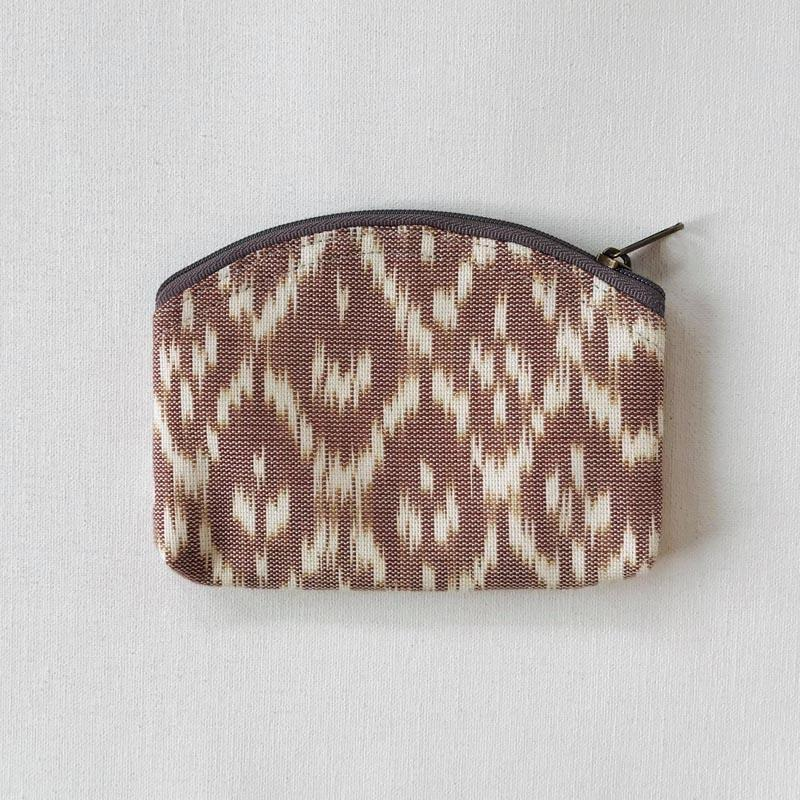 vegan purse handwoven fabric