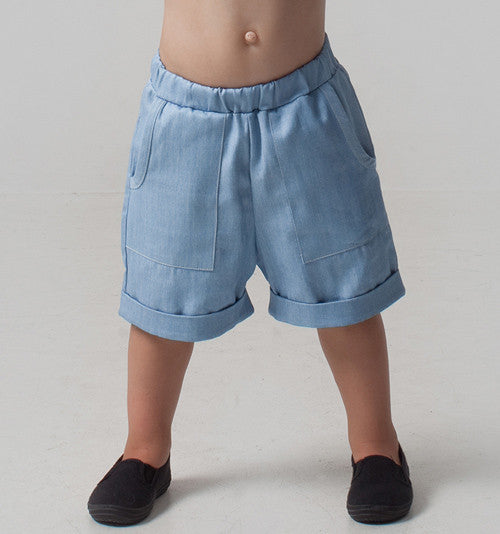 Kids clothing organic cotton shorts