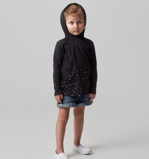 Kids clothing fair trade organic cotton jumper hoody