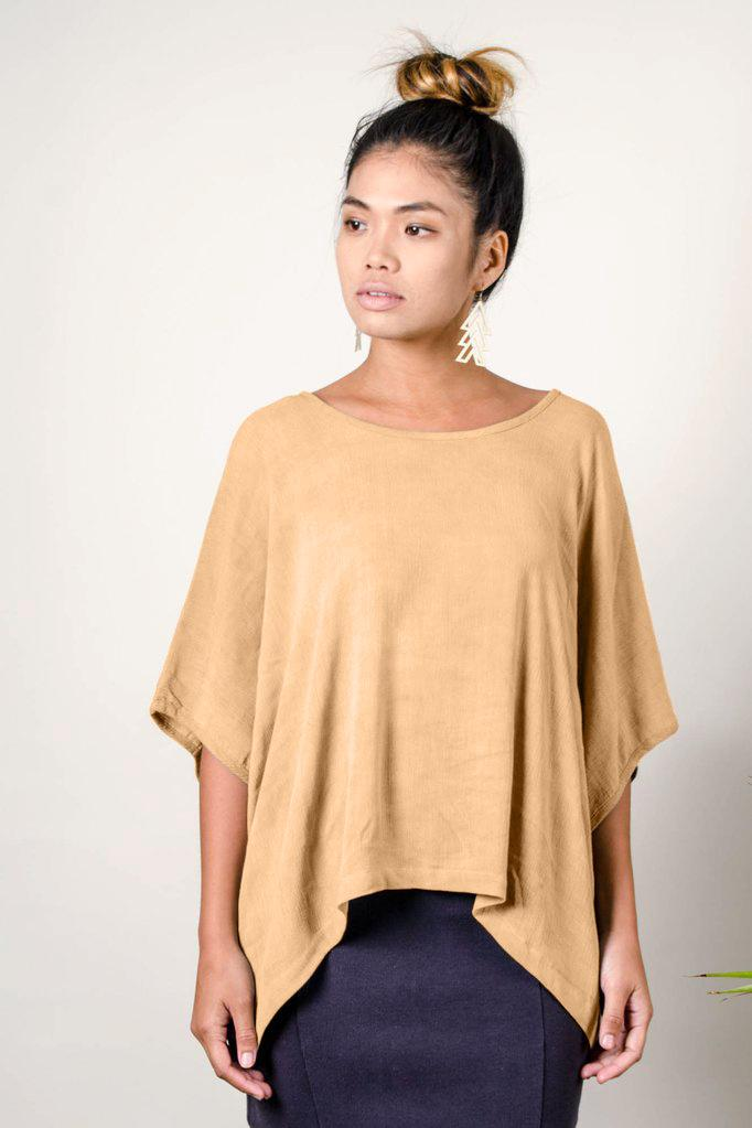 Modimade Handmade top by Tonle ethically made with remnant fabrics