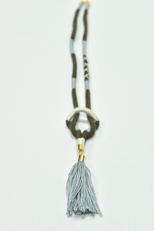 Recycled Rope Necklace