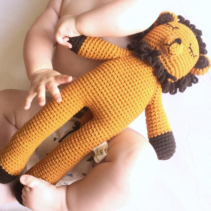 Handmade Sleepy Snoogu Lion - Modimade