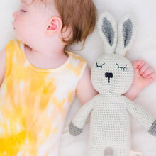 Handmade Sleepy Snoogu Bunny - modimade Vegan friendly toys