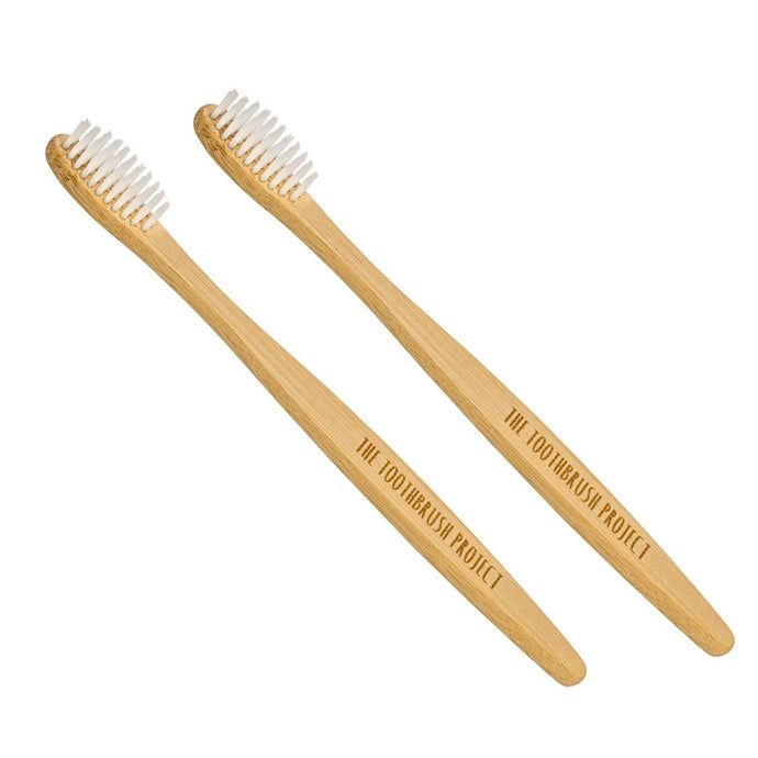 Adult Bamboo Toothbrush - Pack of 2