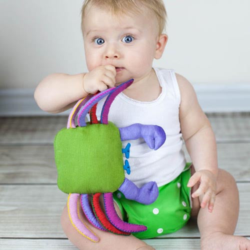 Fair and ethically made Baby rattle for toddlers. A great gift.