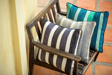Handmade Cushion Cover in Stone Stripe - Modimade