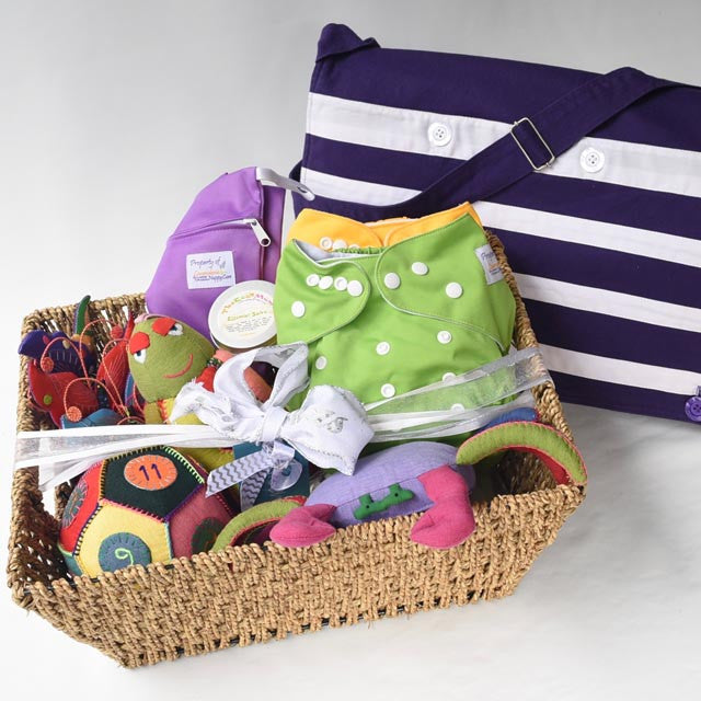 Ethically made baby gift hamper