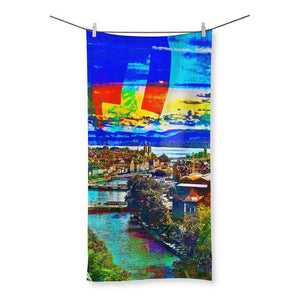 Züri Summer Beach Towel