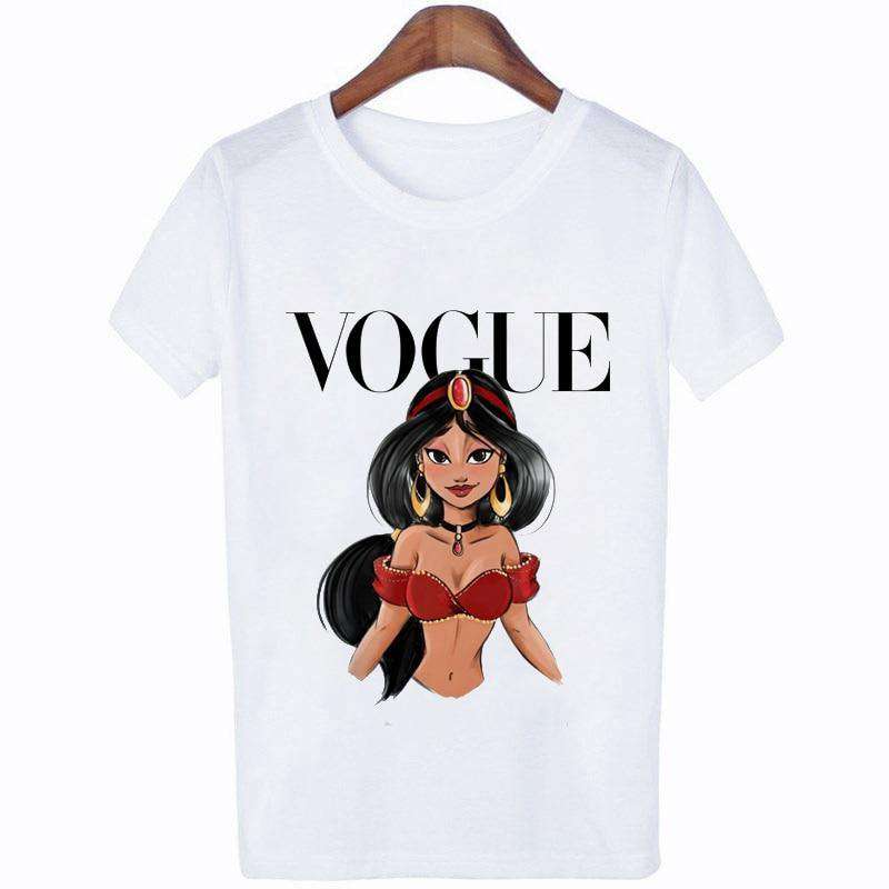 VOGUE Fashion Women T Shirt