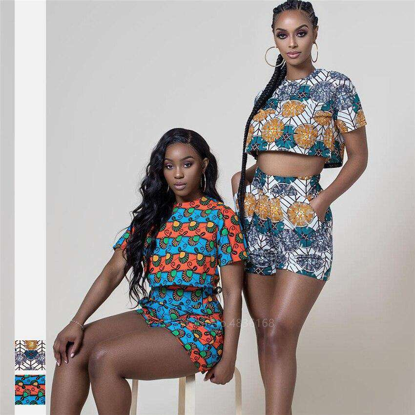 Reunion African two piece set