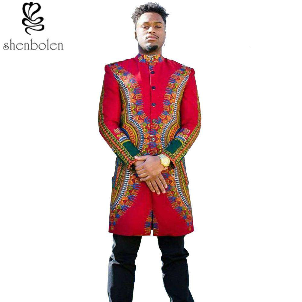 Roy Dashiki Coat