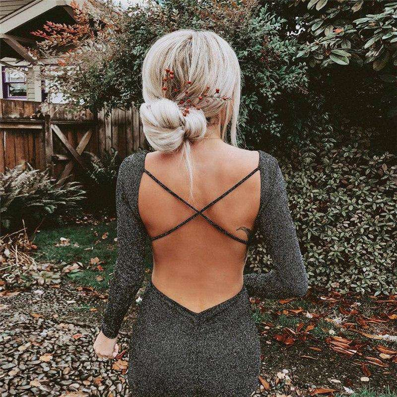 Vitiana Backless Dress