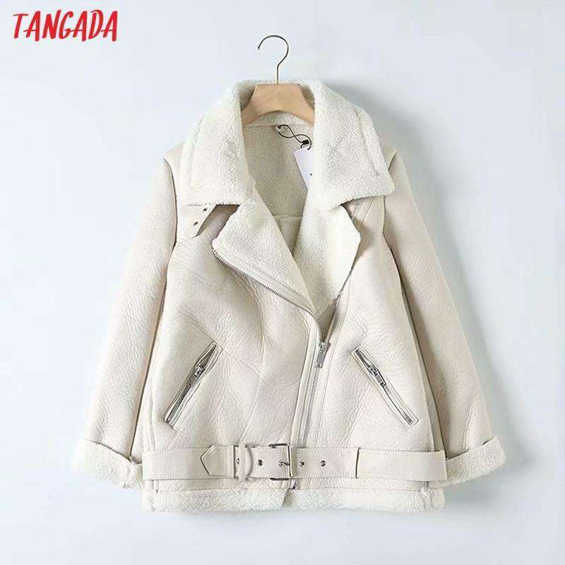 Tangada Women Oversized Coat
