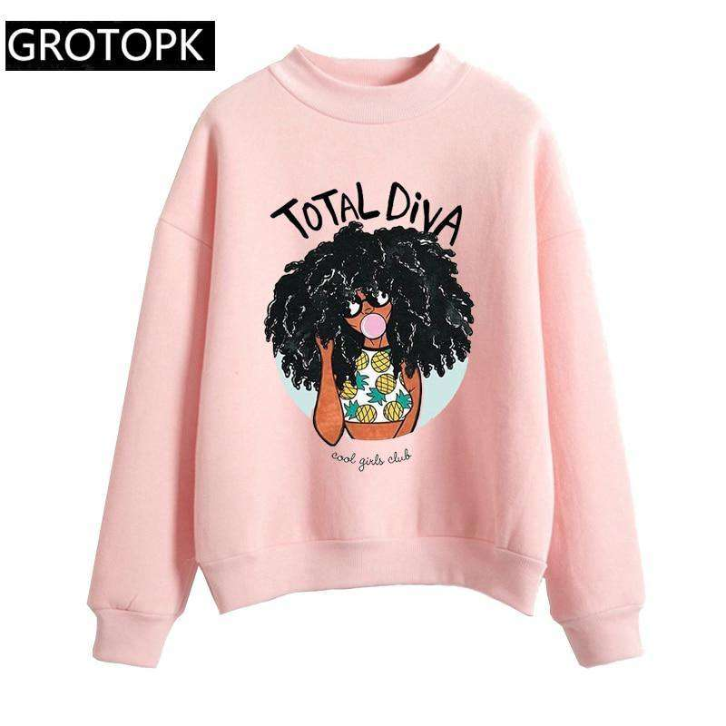 Total Diva Pullover
