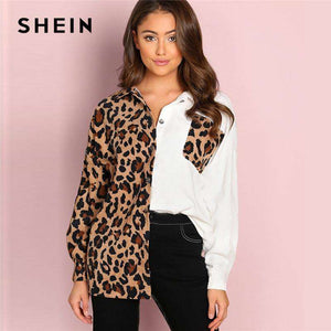 Round Neck Leopard Jacket