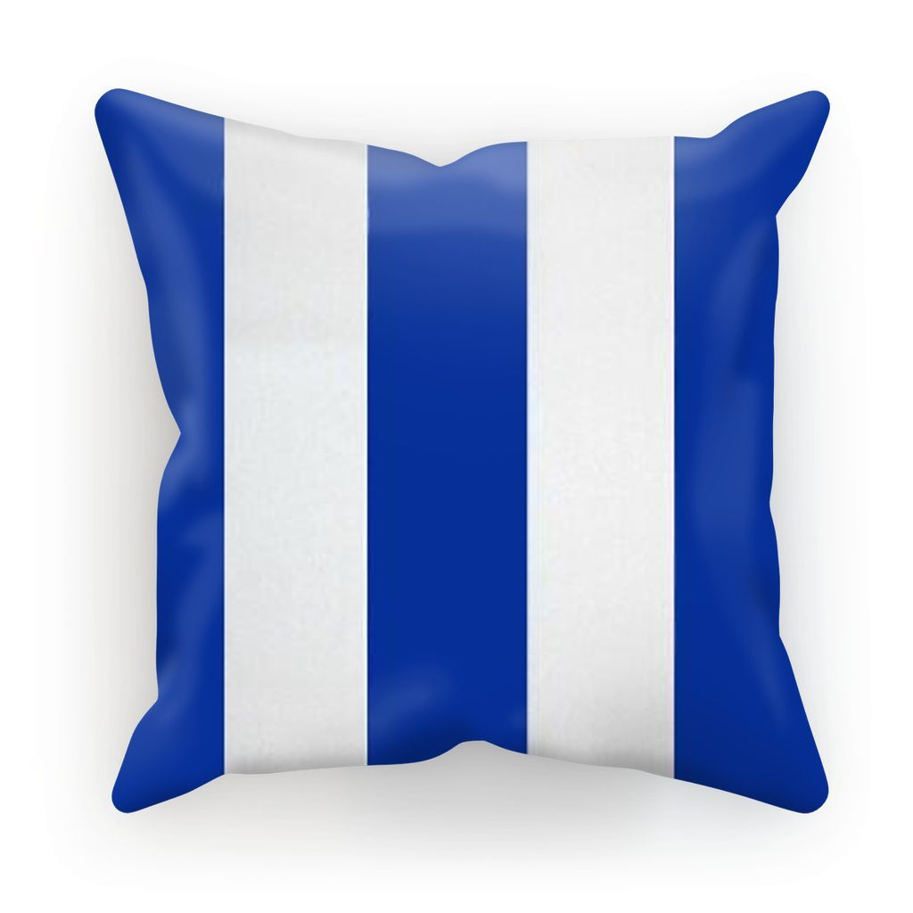 White&Blue Stripes Cushion