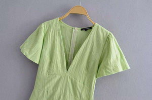 Green Jumpsuits - HCWP