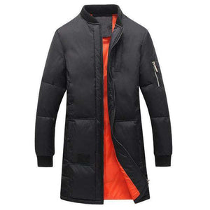 Men Warm Long Jackets - HCWP