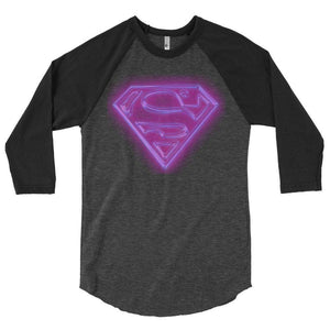 Super Lila Raglan shirt