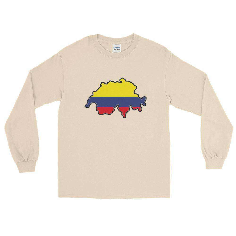 Swiss Colombia Long T-Shirt - HCWP