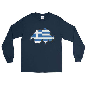 Swiss Greek Long T-Shirt