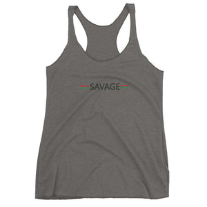 SAVAGE Women's Racerback Tank