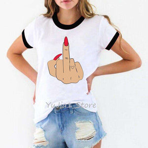 Mood Middle Finger t shirts - HCWP