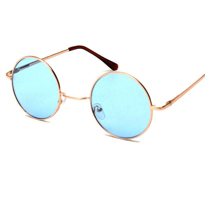 ROYAL GIRL New Retro Round Sunglasses