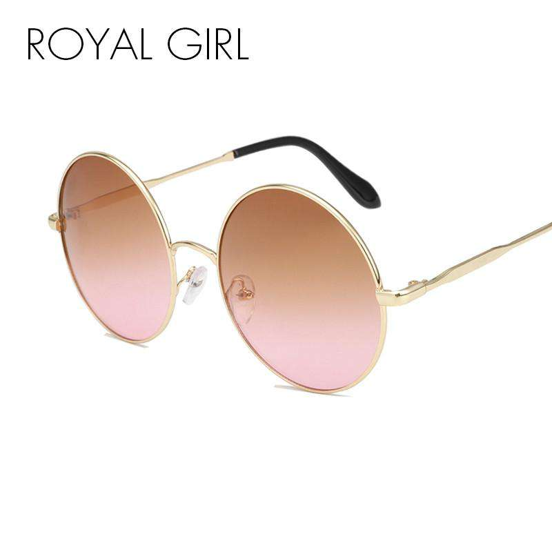 ROYAL GIRL Round Lens Sunglasses